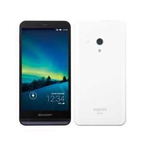 SHARP シャープ AQUOS 16GB ホワイト AQUOS SH-M01 SIMフリー|westbeeeee