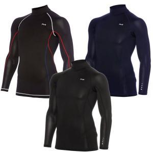 フィットネス スポーツジム メンズ 長袖ハイネック FILA/フィラ 445-111|westcoast