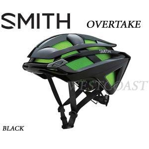 SMITHスミス 2016 OVERTAKE BLACK ヘルメット・ロード・自転車|westcoast