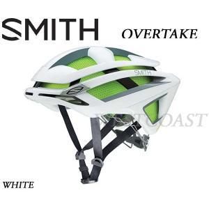 SMITHスミス 2016 OVERTAKE WHITE ヘルメット・ロード・自転車|westcoast