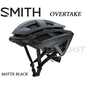 SMITHスミス 2016 OVERTAKE MATTE BLACK ヘルメット・ロード・自転車|westcoast