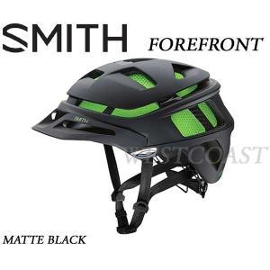SMITHスミス 2016 FOREFRONT MATTE BLACK ヘルメット・マウンテン・自転車|westcoast