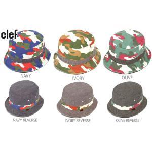 リバーシブルハット 帽子  CLE/Fクレ  品番/REV.BUCKET CAMO HAT   品名/RB3488 |westcoast