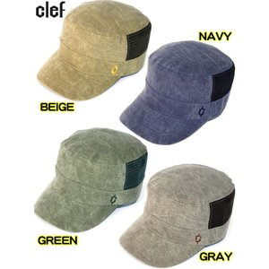 ワークキャップ 帽子 CLEF/クレ RB3504 SOLID CAMO MESH CAP  westcoast