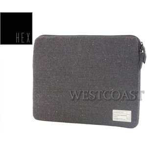 "HEXヘックス MONARCH 15"" LAPTOP SLEEVE HX1612 CHARCOAL"