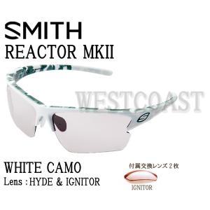 SMITHスミス REACTOR MK2  WHITE CAMO  【レンズ】HYDE&IGNITOR 209000007サングラス 送料無料|westcoast