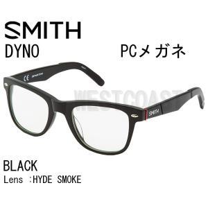 SMITHスミス DYNO BLACK HYDE SMOKE 207001001 PCメガネ|westcoast