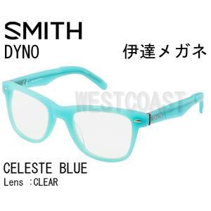 SMITHスミス DYNO CELESTE BLUE CLEAR 207001012 伊達メガネ|westcoast