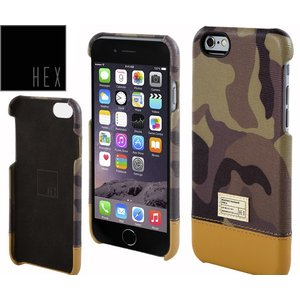 HEXヘックス FOCUS CASE For iPhone6 Plus HX1837 CAMO LETHER送料無料|westcoast