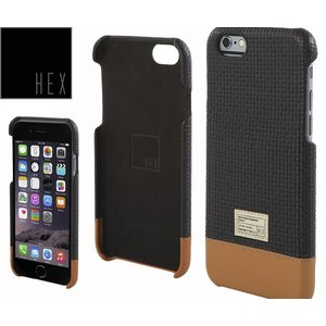 HEXヘックス FOCUS CASE For iPhone6 Plus HX1837 BLACK WOVEN LETHER送料無料|westcoast