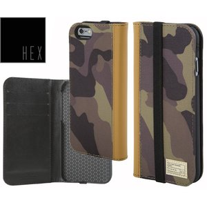 HEXヘックス ICON WALLET For iPhone6・iPhone6s HX1750 CAMO LETHER 送料無料あすつく|westcoast