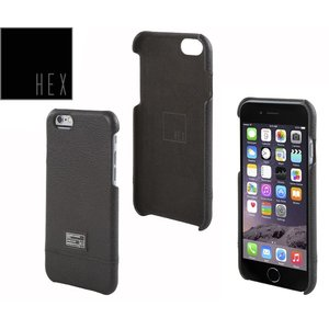 HEXヘックス  FOCUS CASE For iPhone6  HX1752  BLACK LETHER 送料無料|westcoast