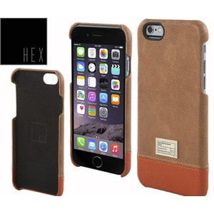 HEXヘックス FOCUS CASE For iPhone6 HX1752 BROWN LETHER 送料無料|westcoast