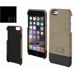 HEXヘックス FOCUS CASE For iPhone6 HX1752 KHAKI CANVAS 送料無料|westcoast