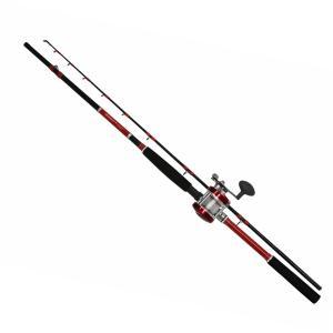 タコガンガンセット リール糸付 210cm 041912 タコ釣り竿タコロッド |westcoast