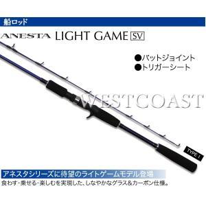 PRO TRUSTプロトラスト  ANESTA 船ライトゲーム SX180 TYPE1  船ロッド 054639 送料無料|westcoast