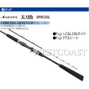 PRO TRUSTプロトラスト  ANESTA 太刀魚 SPECIAL 190cm  059443 船ロッド 送料無料|westcoast