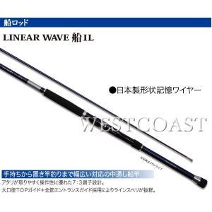 PRO TRUSTプロトラスト  LINEAR WAVE 船 ILリニアウェーブ  80-310cm 059788 中通し・インターラインロッド 送料無料あすつく|westcoast