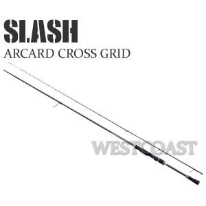 SLASHスラッシュ Arcard cross grid 862GTR 259cm エギングロッド