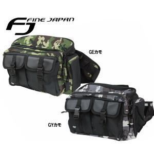 FINEJAPANファインジャパン BG4107 ウエストバッグ ヒップバッグ  westcoast