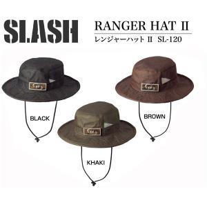 SLASHスラッシュ RANGER HAT2 SL-120 レンジャーハット・帽子|westcoast