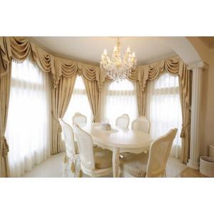 プリンセスなハウススタイリングを演出するカーテン。 お客様のお好みのファブリックをお選びいただけます...