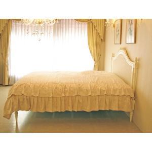 ●New!●輸入 オーダー家具 フレンチスタイルベッド クィーンサイズ ホワイト色 westhousegallery 06