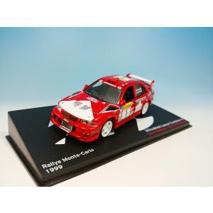 デアゴスティーニ ラリーカーコレクション  1/43 ミツビシ ランサー エボリューションVI T.マキネン モンテカルロ1999|westpoint