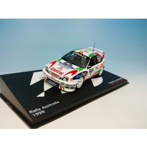 デアゴスティーニ ラリーカーコレクション  1/43 トヨタ カローラ WRC C.サインツ #3 オーストラリア1999|westpoint