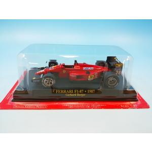 アシェット フェラーリF1コレクション1/43 フェラーリ F1-87 1987 G.ベルガー westpoint