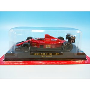 アシェット フェラーリF1コレクション1/43 フェラーリ F1-89 1989 N.マンセル westpoint