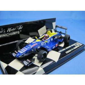 PMA ミニチャンプス1/43 ダラーラ SODEMO ルノー F301 福田良 フランスF3チャンピオン2001|westpoint