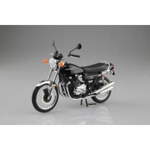 アオシマ スカイネット 1/12 カワサキ900スーパー4 Z1 ブラック 4905083-105948|westpoint