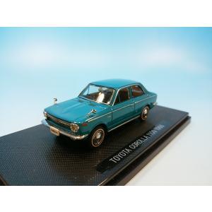エブロ 1/43 トヨタ カローラ 1100 1966 グリーン   895|westpoint