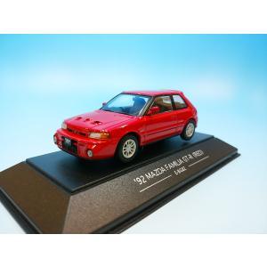SAPIモデルズ 1/43 マツダ ファミリア GT-R 1992 レッド C025|westpoint