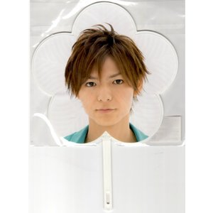 Hey!Say!JUMP 薮宏太「SUMMARY 2011」ミニうちわ[ 公式グッズ ](中古ランクB) wetnodsedog