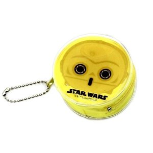 スター・ウォーズ [ C-3PO ] 丸形コインケース|wetnodsedog