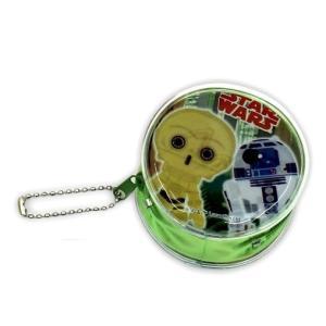 スター・ウォーズ [ C-3PO&R2-D2 ] 丸形コインケース|wetnodsedog