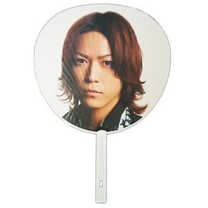 KAT-TUN 亀梨和也「LIVE TOUR 2012 CHAIN」ジャンボうちわ[ 公式グッズ ](中古ランクB)|wetnodsedog