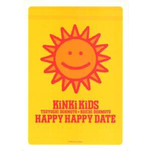 KinKi Kids 堂本剛「HAPPY HAPPY DATE」下敷き[ 公式グッズ ] wetnodsedog 02