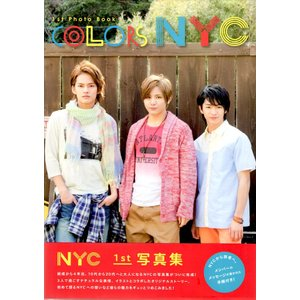 NYC 1st PHOTO BOOK COLORS NYC [ 公式グッズ ](中古ランクB) wetnodsedog