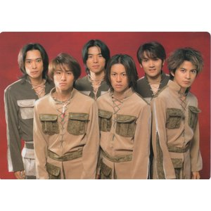V6「1998-1999 winter concert」A4 下敷き [ 公式グッズ ]|wetnodsedog