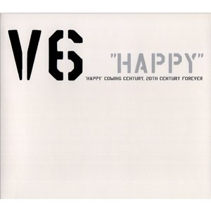 "V6 [ CD ] ""HAPPY""Coming Century,20th Century forever(初回限定盤)(中古ランクB)