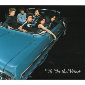 V6 [ CD ] IN THE WIND(初回限定盤)(中古ランクA)ステッカー付|wetnodsedog