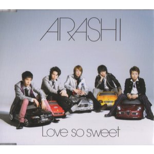 [嵐] CD 「Love so sweet」通常盤    1. Love so sweet   2....