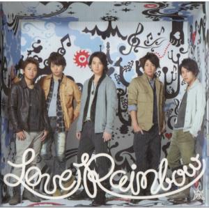 [嵐] CD+DVD 「Love Rainbow」初回限定盤  ディスク:1 1. Love Rai...