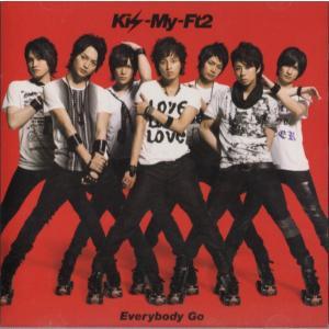 Kis-My-Ft2 [ CD ] Everybody Go(通常盤/赤ジャケット)(中古ランクB)|wetnodsedog