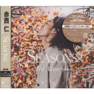 赤西仁 [ CD ] Seasons(通常盤/スペシャルフォトブックレット仕様)新品 wetnodsedog