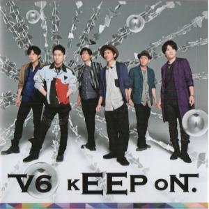 V6 [ CD ] kEEP oN. (通常盤/ジャケットC)(中古ランクA)|wetnodsedog