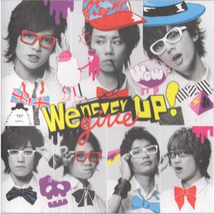 Kis-My-Ft2 [ CD ] We never give up!(キスマイショップ限定盤)(中古ランクA)|wetnodsedog